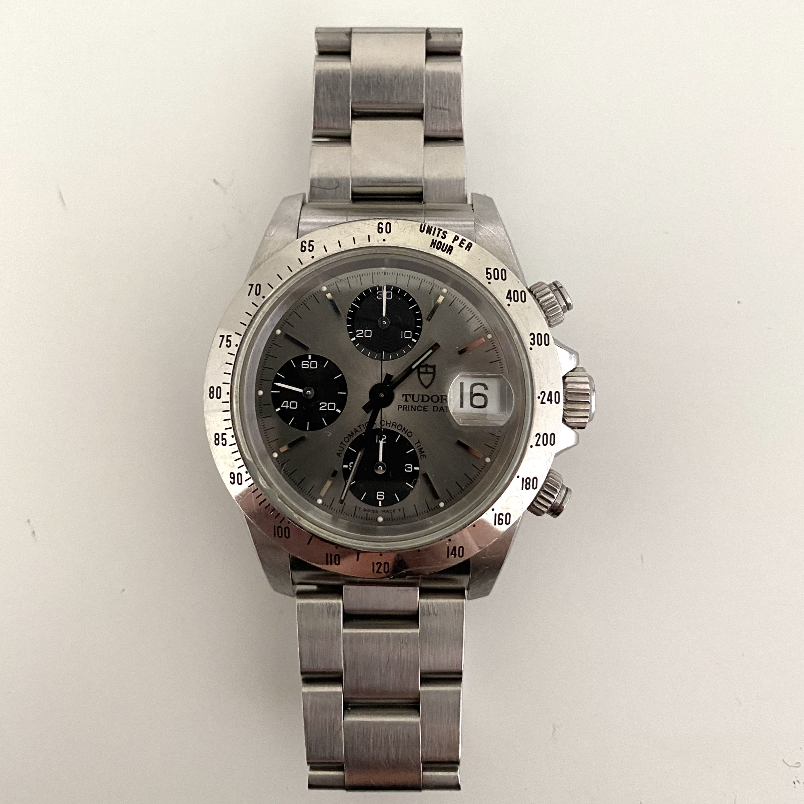 Lot 6 - Tudor Chronograph Rolex Case Ref 79280