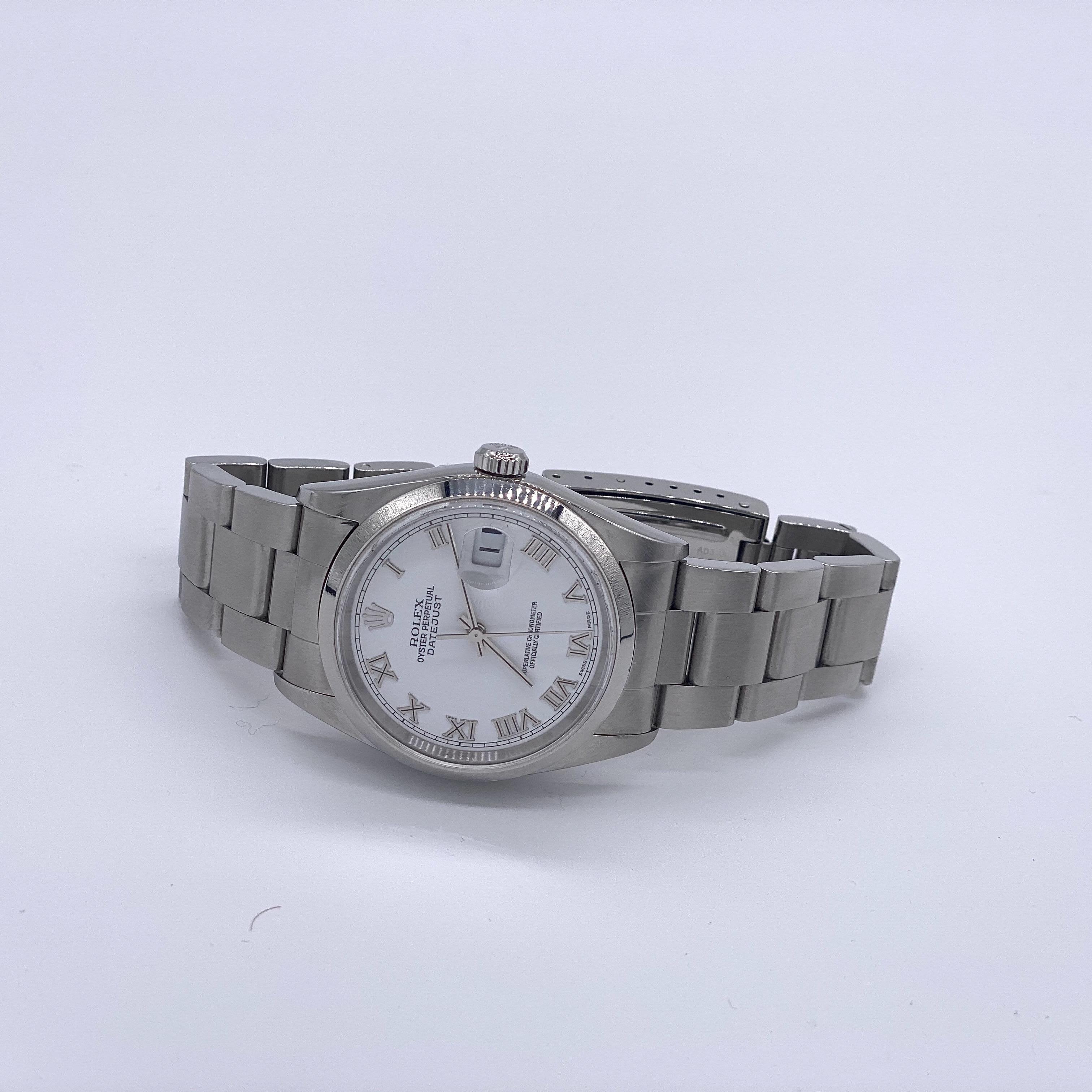 Lot 1 - Rolex Datejust 16200