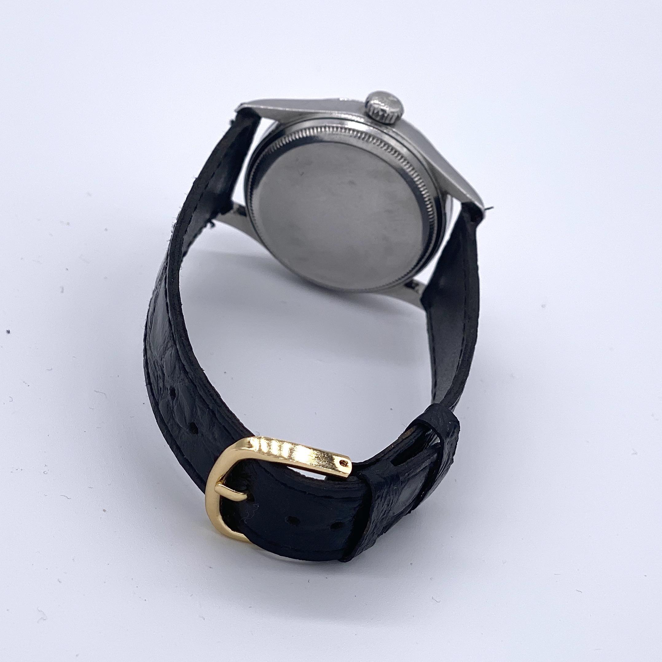 Lot 5 - Tudor Tuxedo Dial Oyster Prince 34 ref 7950
