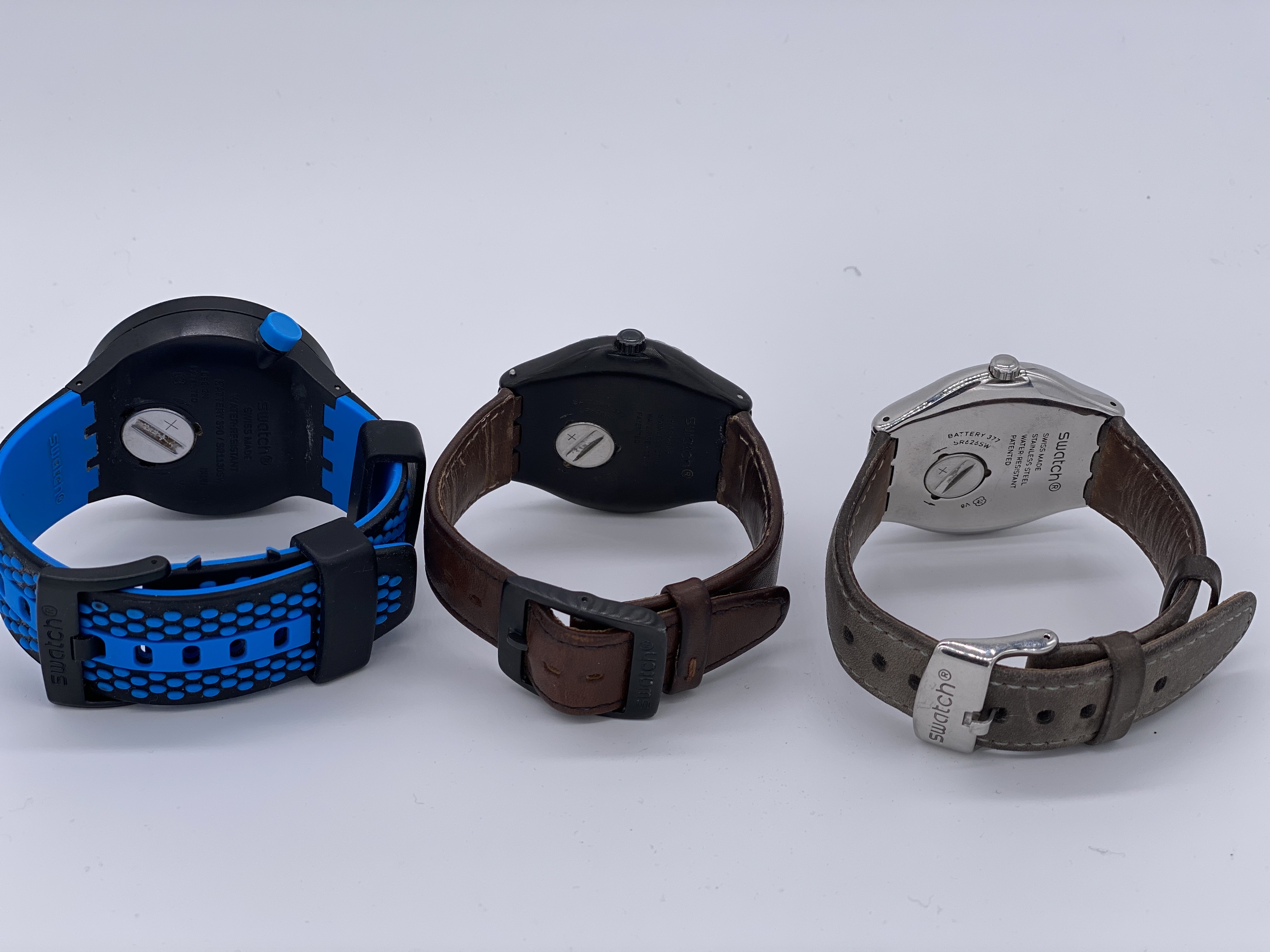 Lot 23 - Assorted Swatch Watches x3