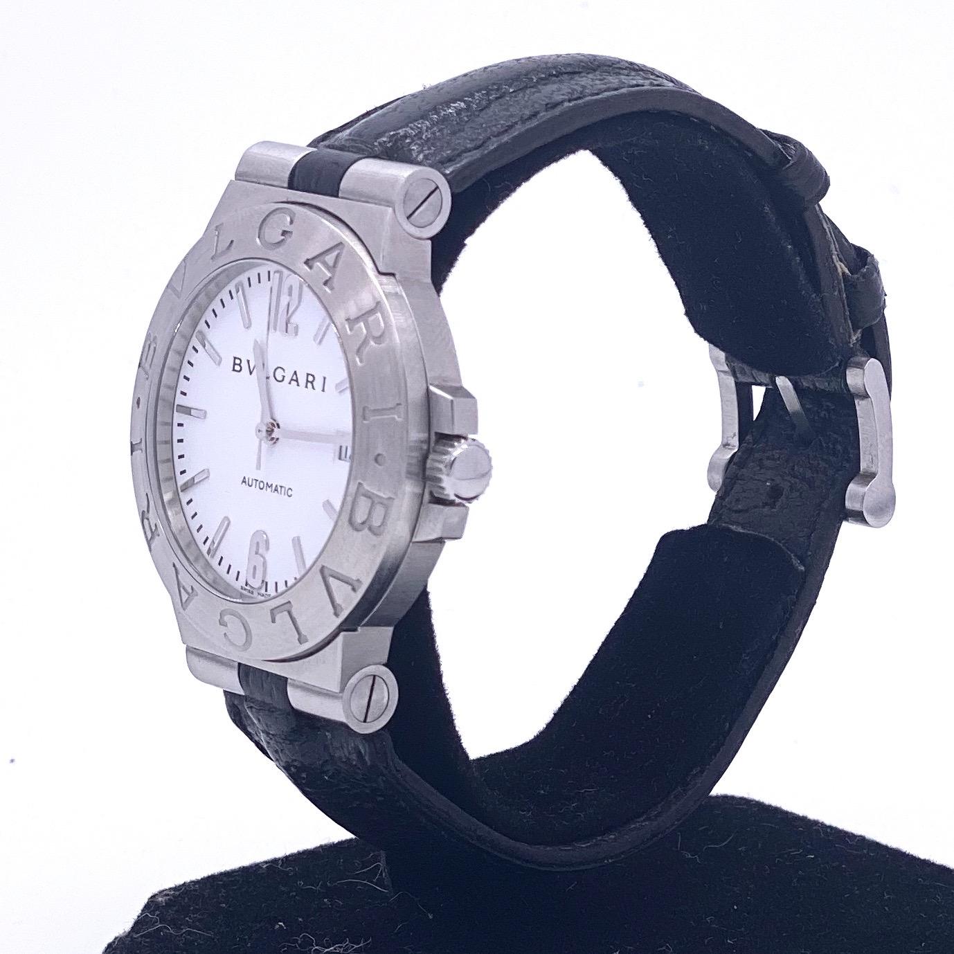 Lot 15 - Bulgari watch ref BB 33 SL