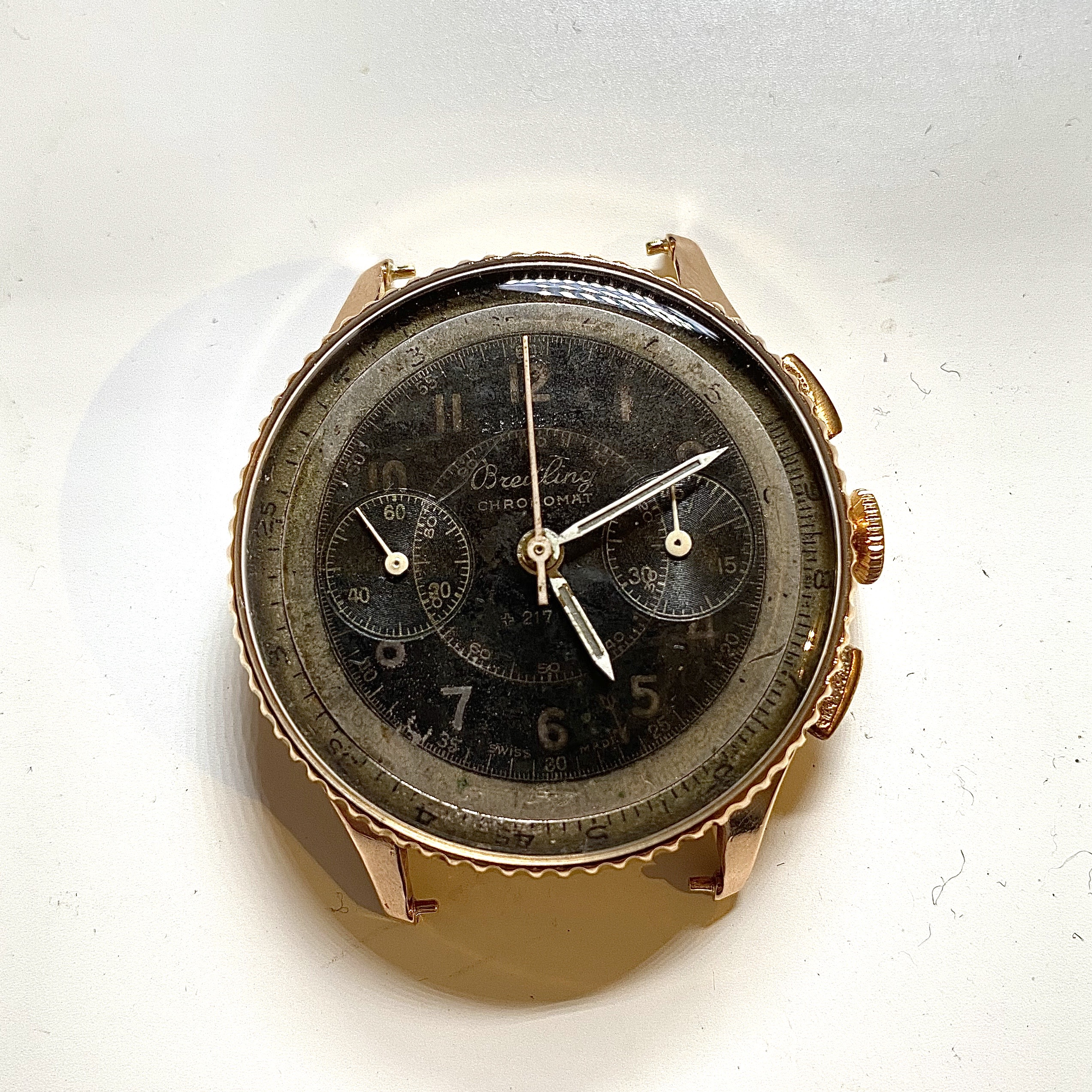 Lot 12 - Breitling Chronomat 18ct Vintage ref 769