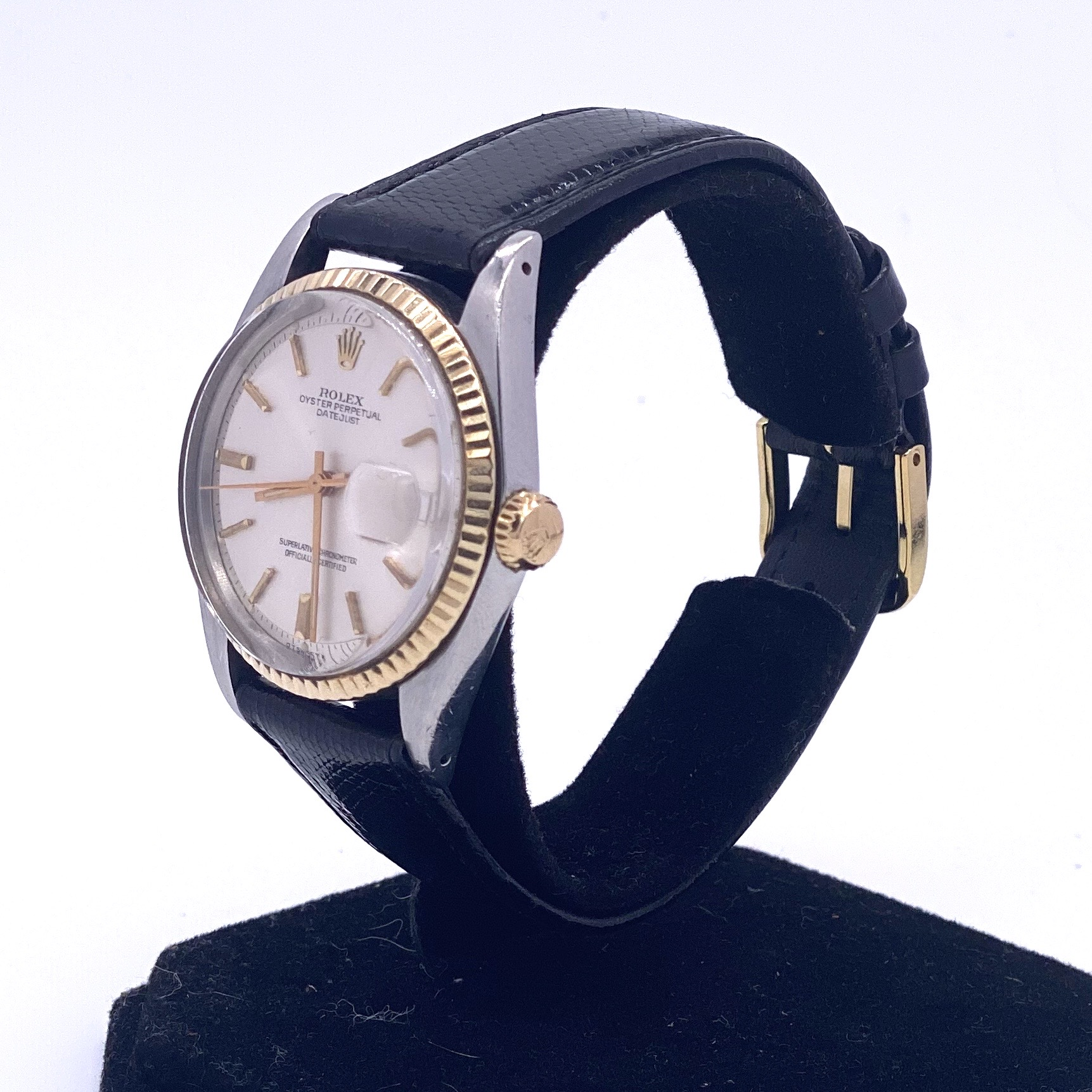 Lot 13 - Rolex Datejust 1601 Steel and 18ct Gold