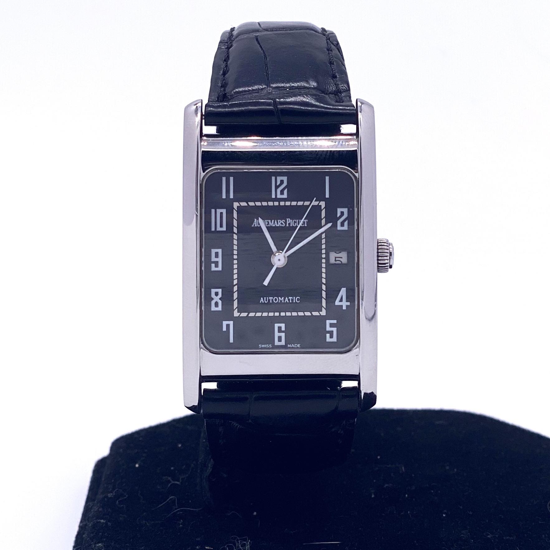 Lot 24 - Audemars Piguet Edward Watch Steel Case