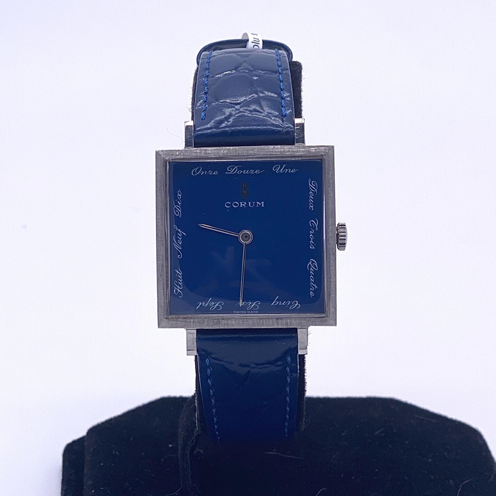 Lot 4 - Corum Buckingham Manual Wind Watch