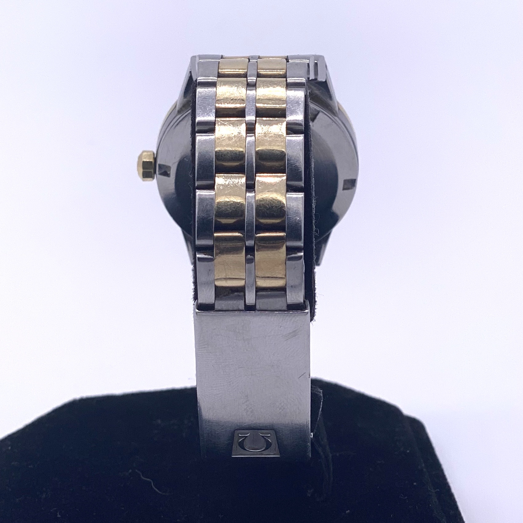 Lot 2 - Omega Constellation Steel and 14ct Gold Vintage Watch Ref 168.0055