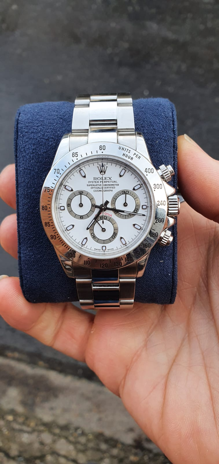 Rolex Daytona ref116520 Box and Papers - Image 5 of 8