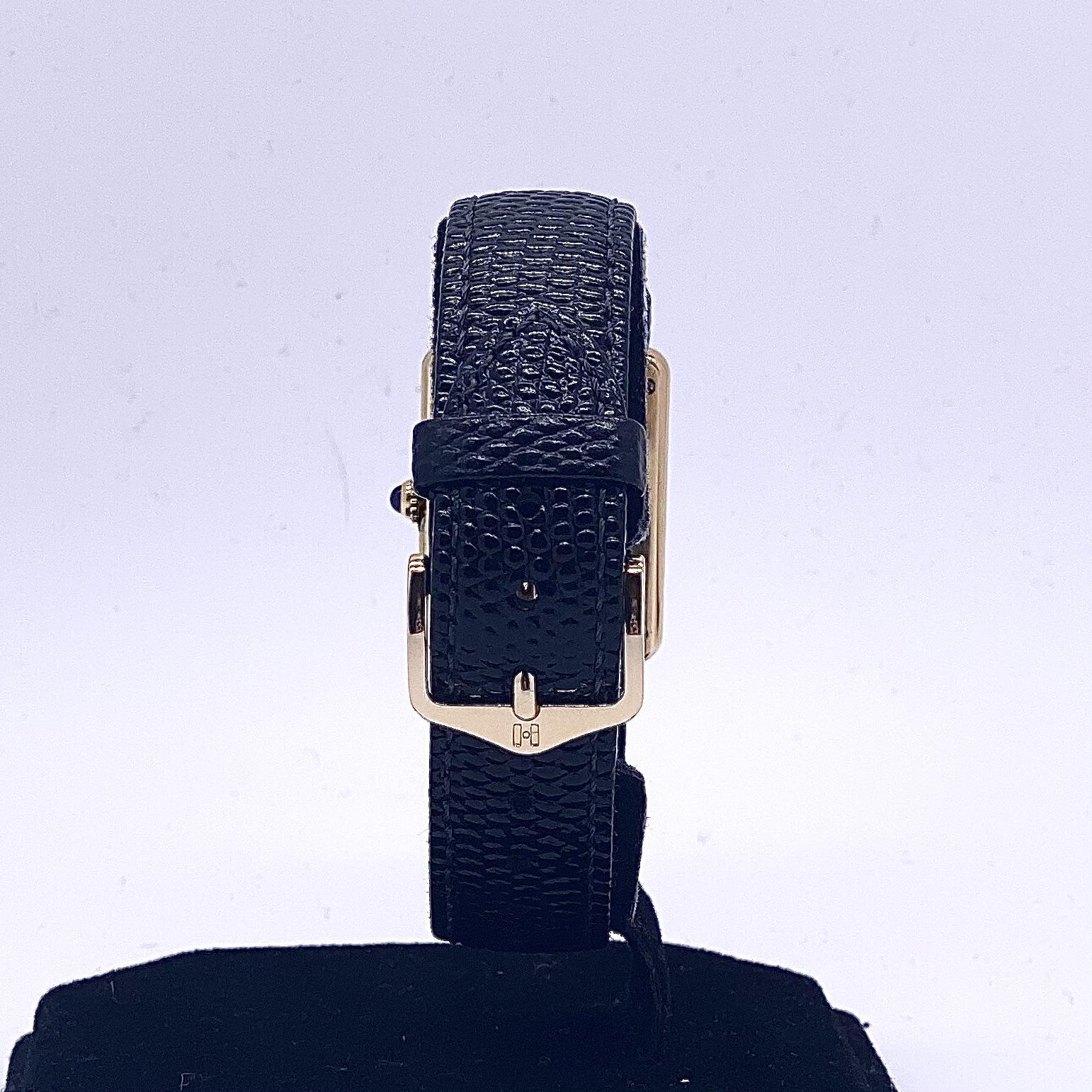 Cartier Tank Quartz Vermeil - Image 3 of 4