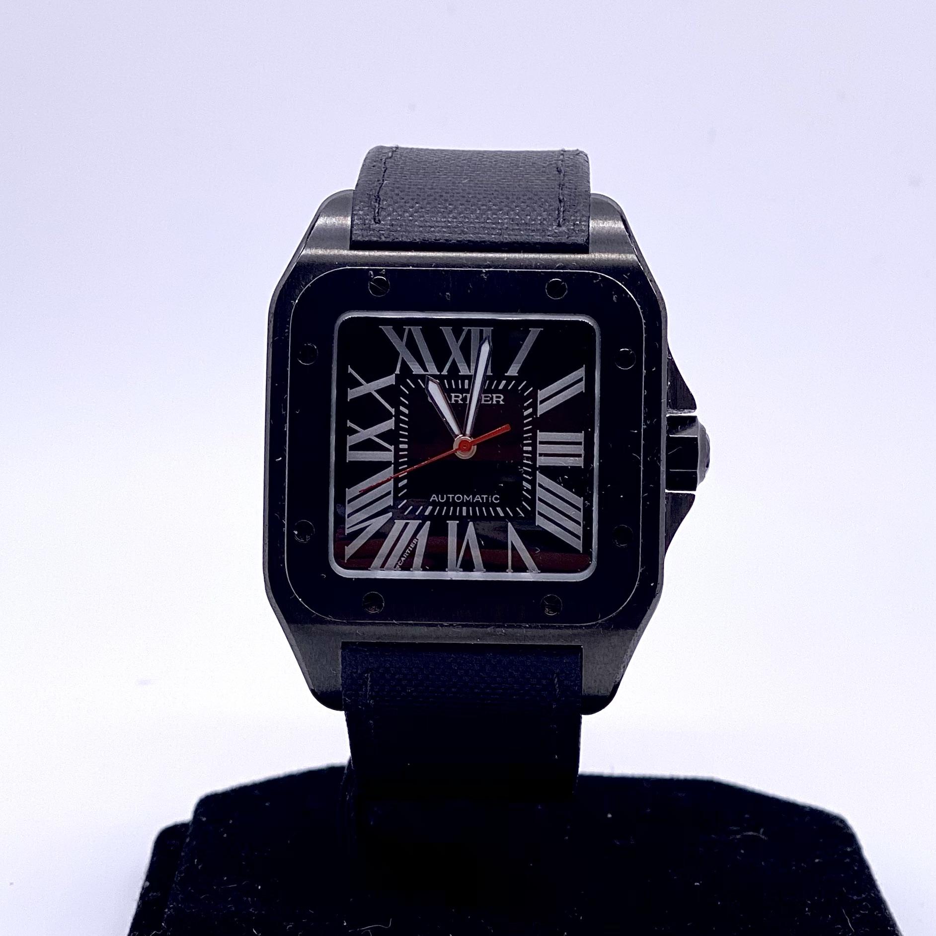 Cartier Santos 100 XL PVD