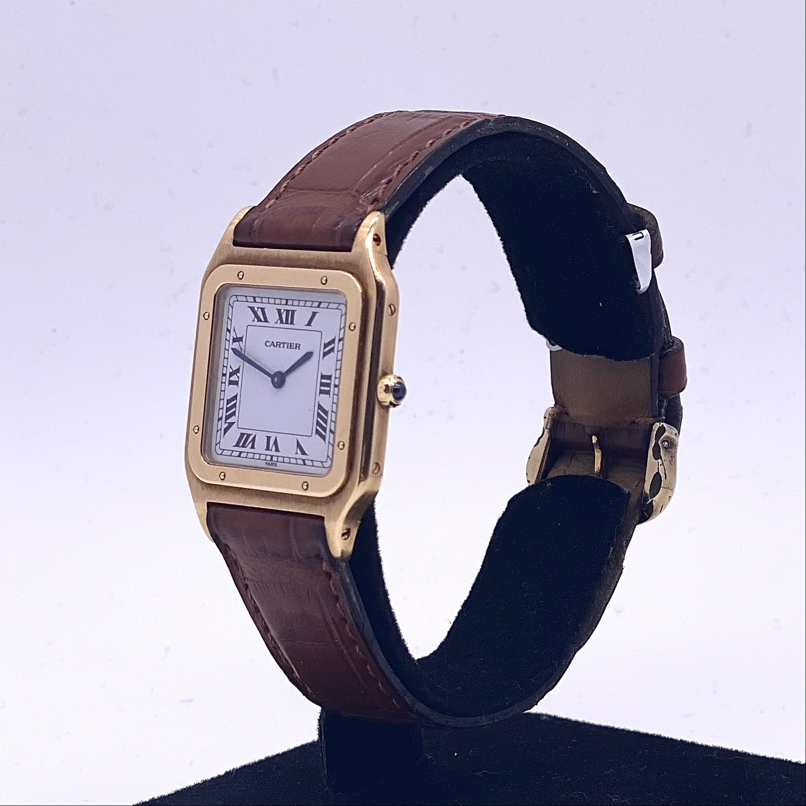 Cartier 18ct Santos Dumont Ultra Thin - Image 2 of 3