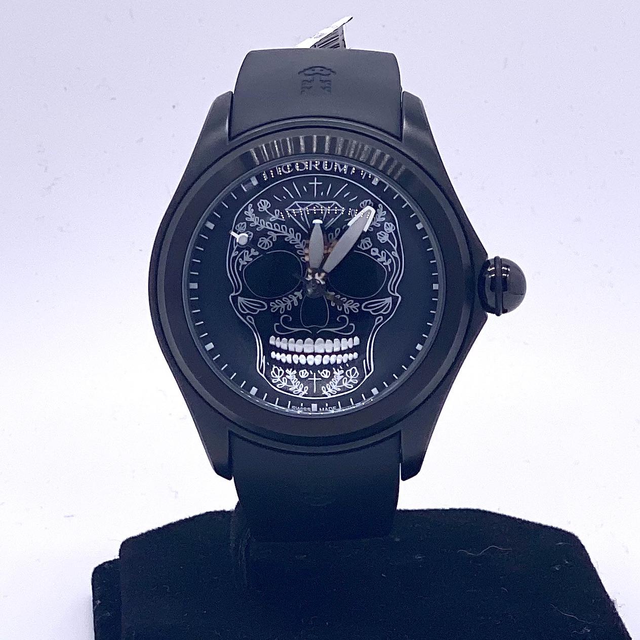 Corum Bubble Skull Watch