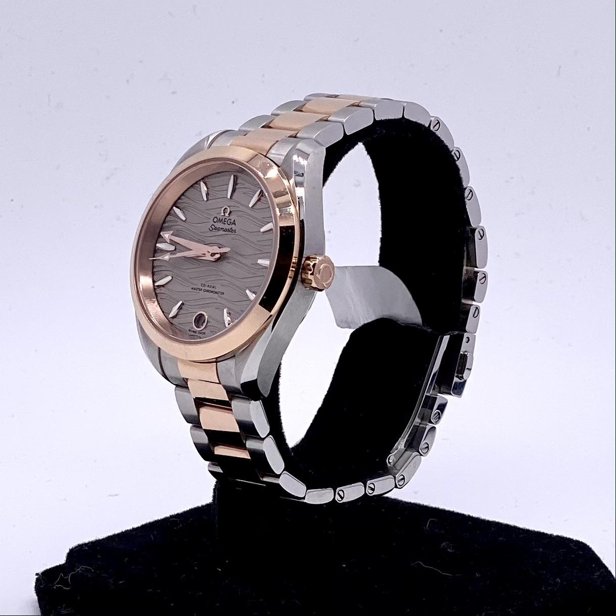 Omega Seamaster Aqua Terra Ladies Watch ref 22020342006001 - Image 2 of 3