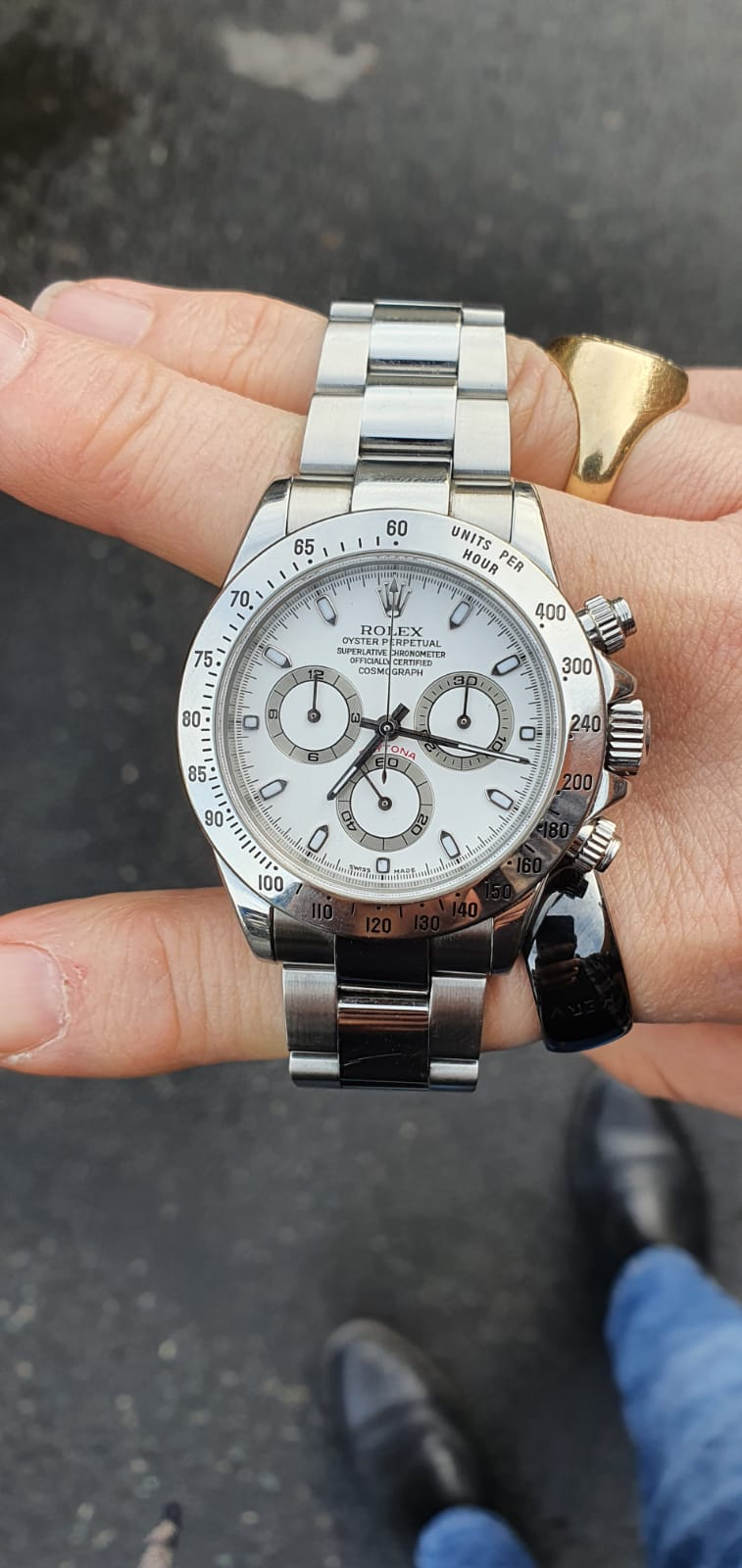 Rolex Daytona ref116520 Box and Papers - Image 8 of 8