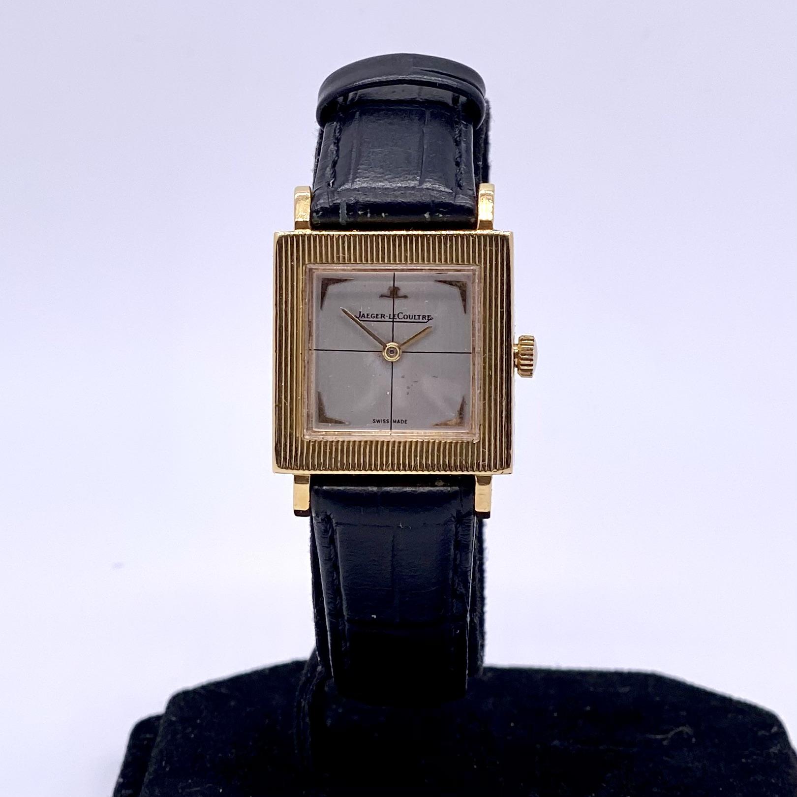 Jaeger le Coultre 18ct Watch