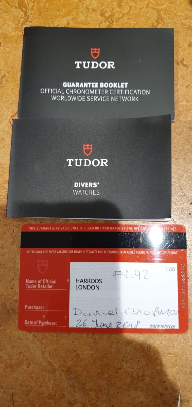 Tudor Black Bay Harrods Edition ref 79230G - Image 5 of 5