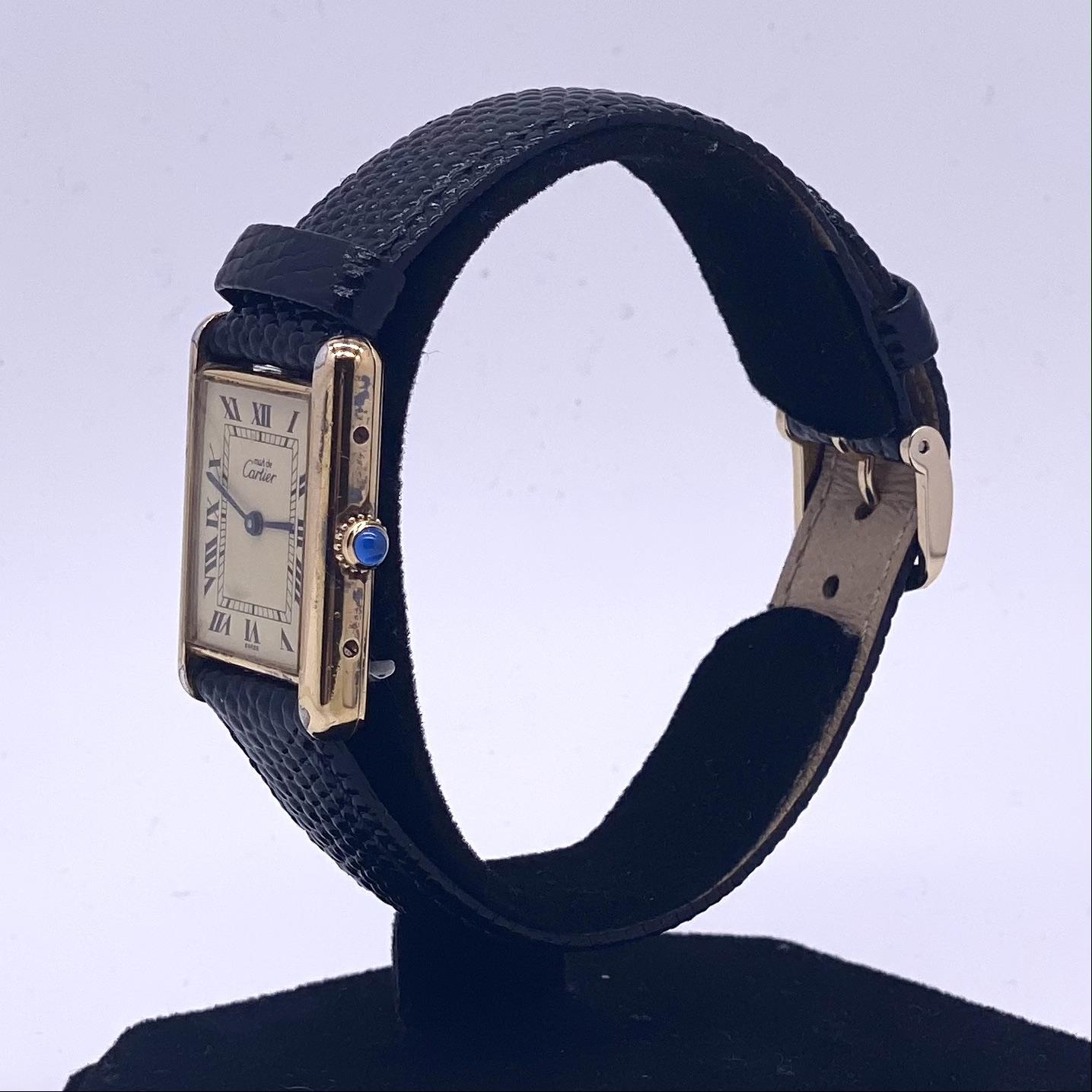 Cartier Tank Quartz Vermeil - Image 2 of 4