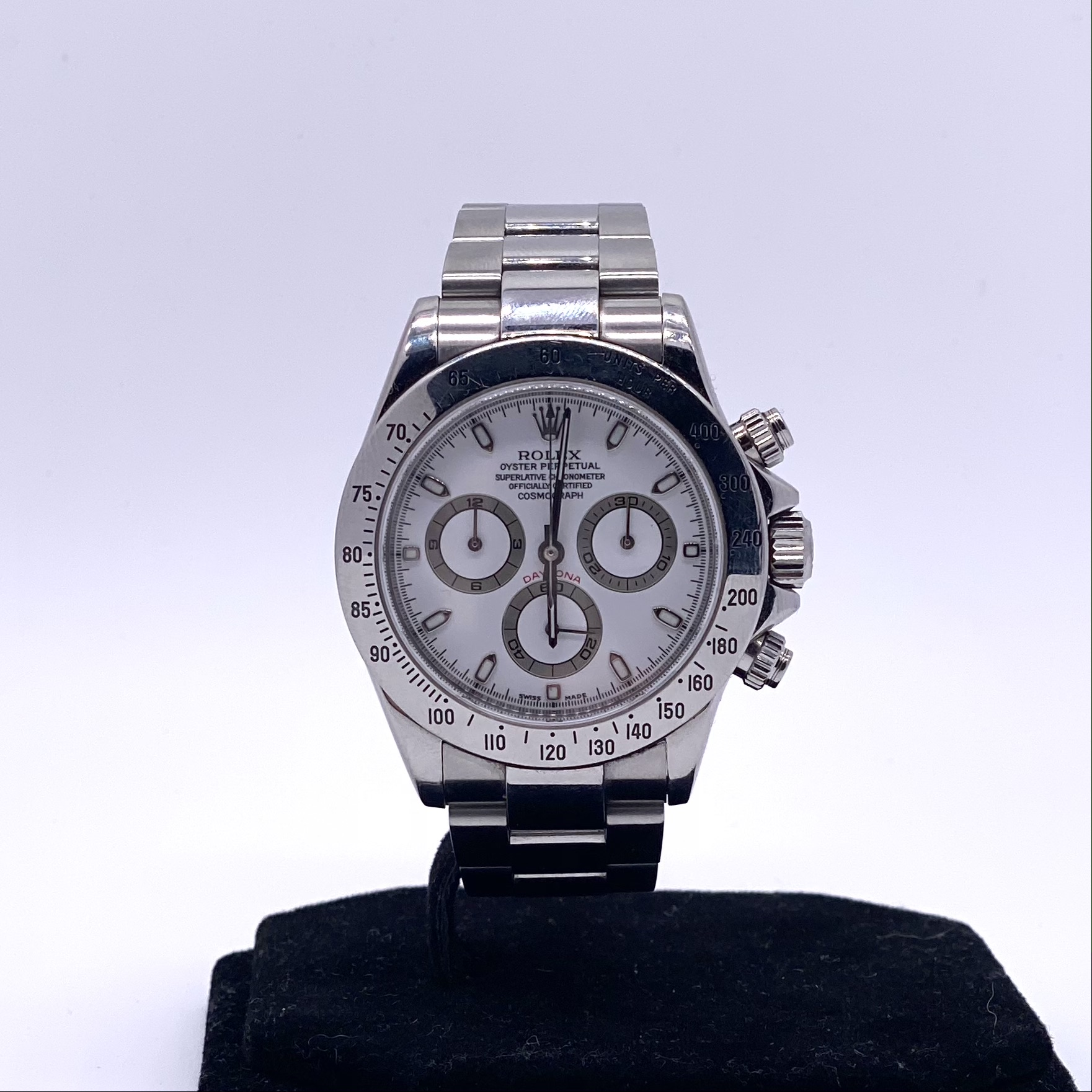 Rolex Daytona ref116520 Box and Papers