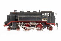 Märklin 2-B-1 Tenderlok TCE 66/12920, S 0, elektr., schwarz, mit 2 el. bel. Strinlampen, kW und 5