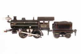 Märklin B-Dampflok R 3040, S 0, elektr., grau/schwarz, mit Tender und 1 el. bel. Stirnlampe, 20 V