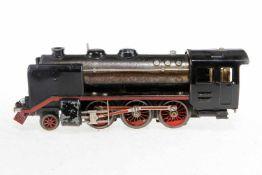 Ditmar 1-C Dampflok, S 0, elektr., schwarz, ohne Tender, bespielt
