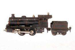 Märklin B-Dampflok R 4020, S 0, spiritusbetrieben, HL, mit Tender (CL), Brenner, Pfeife und 2