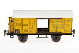Märklin Bananenwagen 1792, S 1, CL, mit BRH, ST fehlen, Dach rest., L 27, Z 4