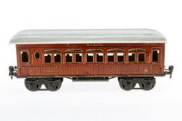 Märklin Mitropa Schlafwagen 1886, S 1, CL, mit 4 AT, LS, L 33, Z 3