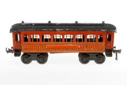 Bing Schlafwagen, S 1, CL, mit Inneneinrichtung, 4 AT, L 34,5, Z 4