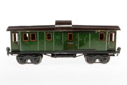 Märklin Gepäckwagen 1889, S 1, CL, mit 4 AT und 2 ST, L 33, Z 4