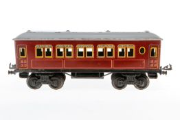 Bing Personenwagen, S 1, CL, LS, L 34,5, Z 3