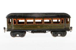 Märklin Personenwagen 1886, S 1, CL, mit 4 AT, L 33,5, Z 4