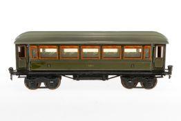 Märklin Personenwagen 1886, S 1, CL, mit 4 AT, L 33, Z 4