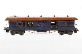 Bing Post-/Gepäckwagen, S 1, HL, mit Inneneinrichtung, 2 AT und 4 ST, L 48, Z 4