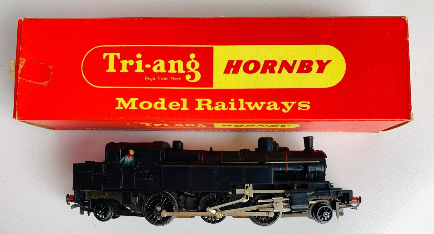 Lot 658 - Triang OO R653TC Transcontinental Prairie Tank SNCF Livery - Boxed. P&P Group 1 (£14+VAT for the