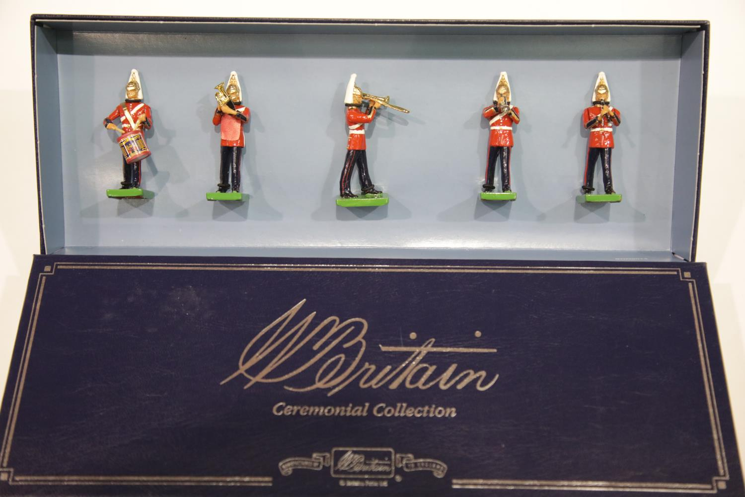 Lot 678 - Britains 00157 Band of The Lifeguards. P&P Group 1 (£14+VAT for the first lot and