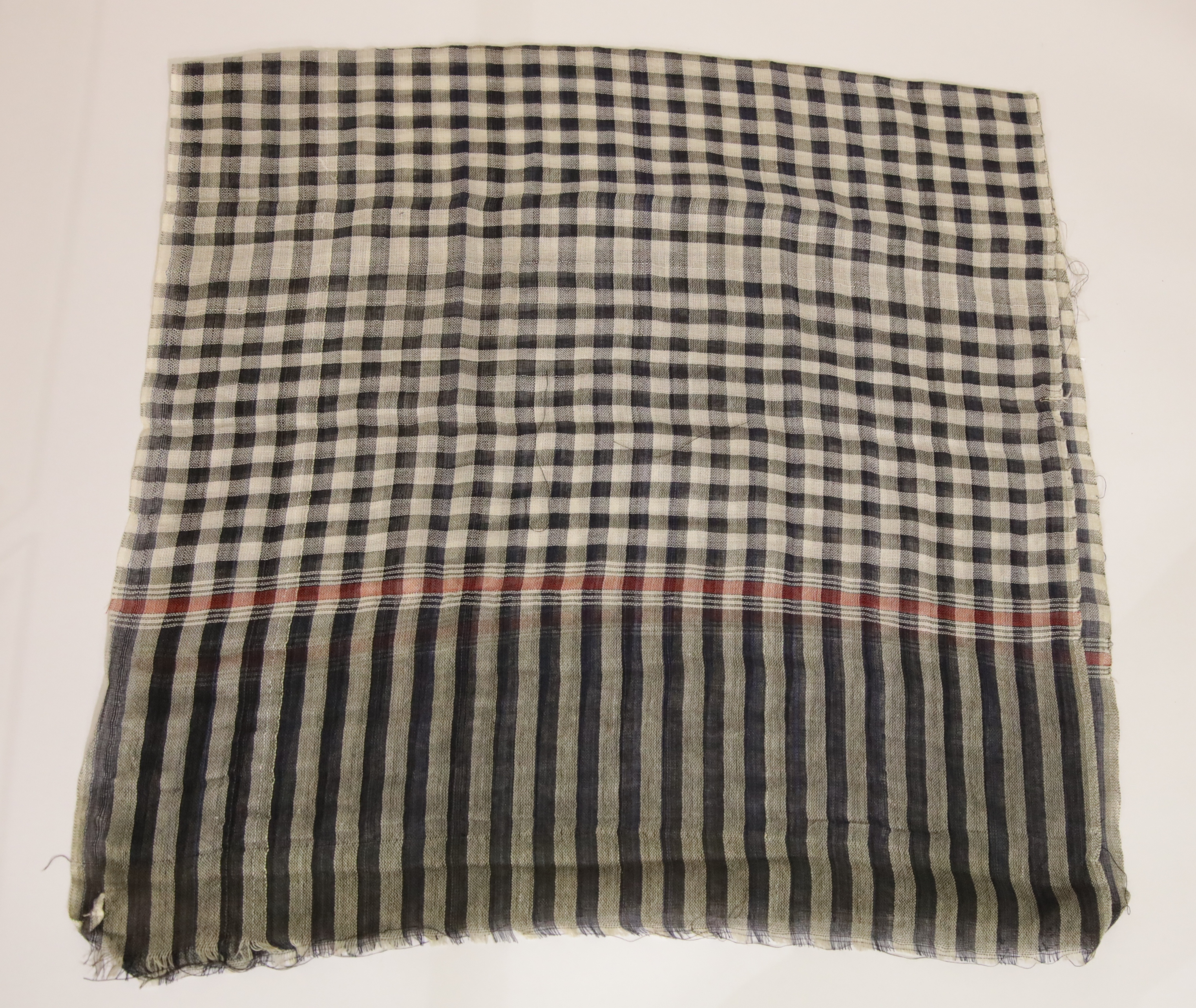 Lot 243 - Vietnam War type Vietcong guerilla scarf. These scarves were given as bravery awards by the