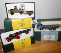 Corgi 1.50 Scale x 3 Tarmac Land Rover, Tyson Burridge, HE Musgrove. P&P Group 2 (£18+VAT for the