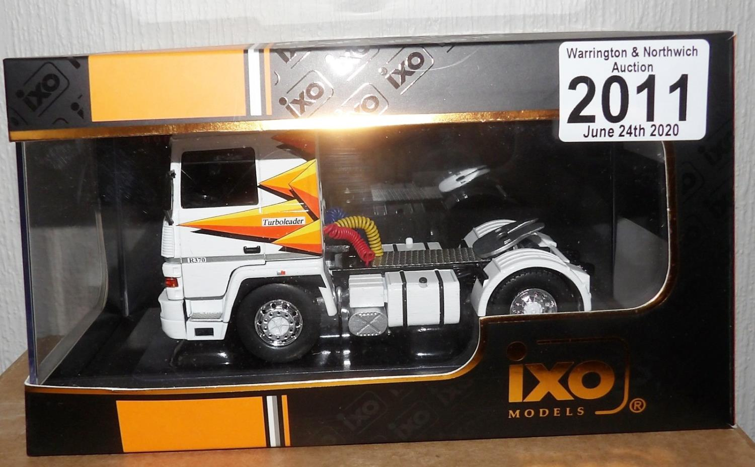 Lot 2011 - IXO 1.43 Scale RENAULT R370 Turbo Leader 1987. P&P Group 1 (£14+VAT for the first lot and £1+VAT for