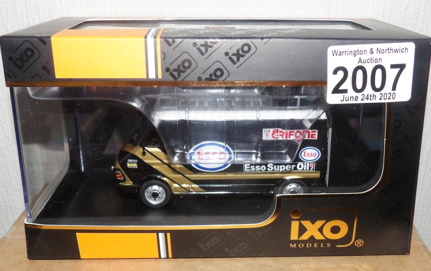 Lot 2007 - IXO 1.43 Scale FIAT 242 (Assistance ESSO Grifone) 1986. P&P Group 1 (£14+VAT for the first lot