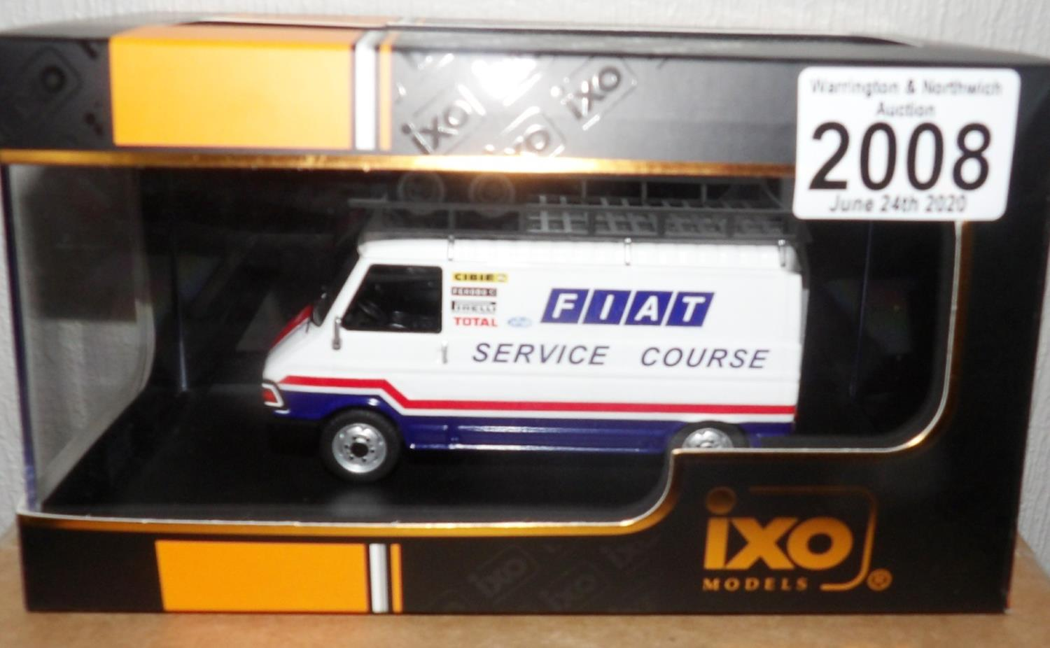Lot 2008 - IXO 1.43 Scale FIAT 242 (FIAT FRANCE Service Course) 1979. P&P Group 1 (£14+VAT for the first lot