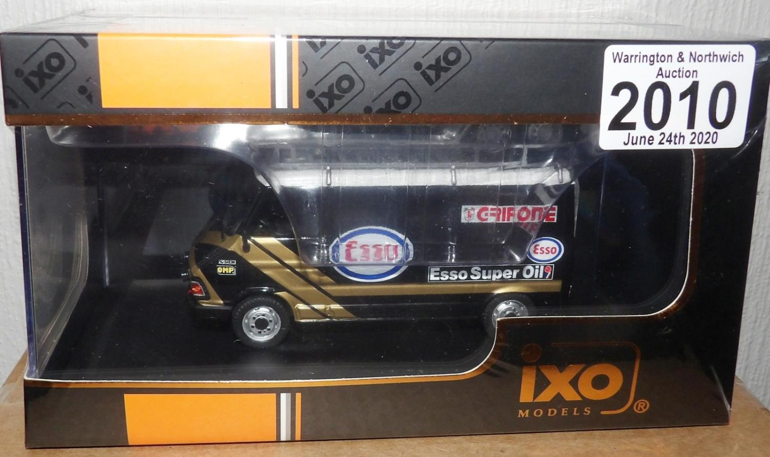 Lot 2010 - IXO 1.43 Scale FIAT 242 (Assistance ESSO Grifone) 1986. P&P Group 1 (£14+VAT for the first lot