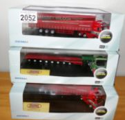 Oxford Haulage 1.76 x 3 Rawcliffe + 2 x Massey Wilcox Ltd Editions. P&P Group 2 (£18+VAT for the