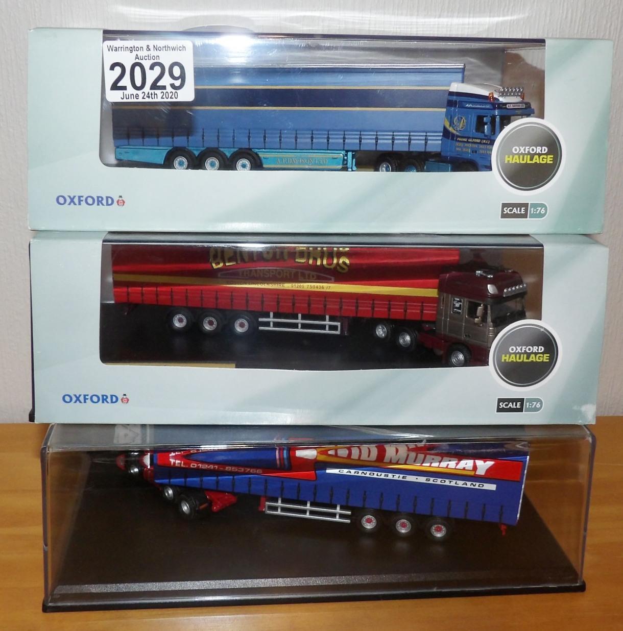 Lot 2029 - Oxford x 3 1.76 Scale David Murray, Benton Bros, AF Davison, all Ltd Editions. P&P Group 2 (£18+