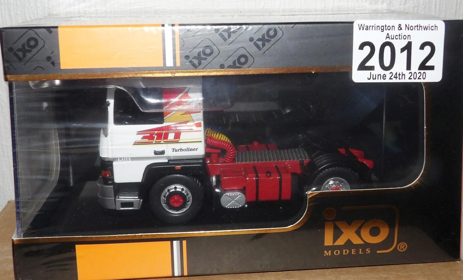 Lot 2012 - IXO 1.43 Scale RENAULT R310 Turboliner 1986. P&P Group 1 (£14+VAT for the first lot and £1+VAT for