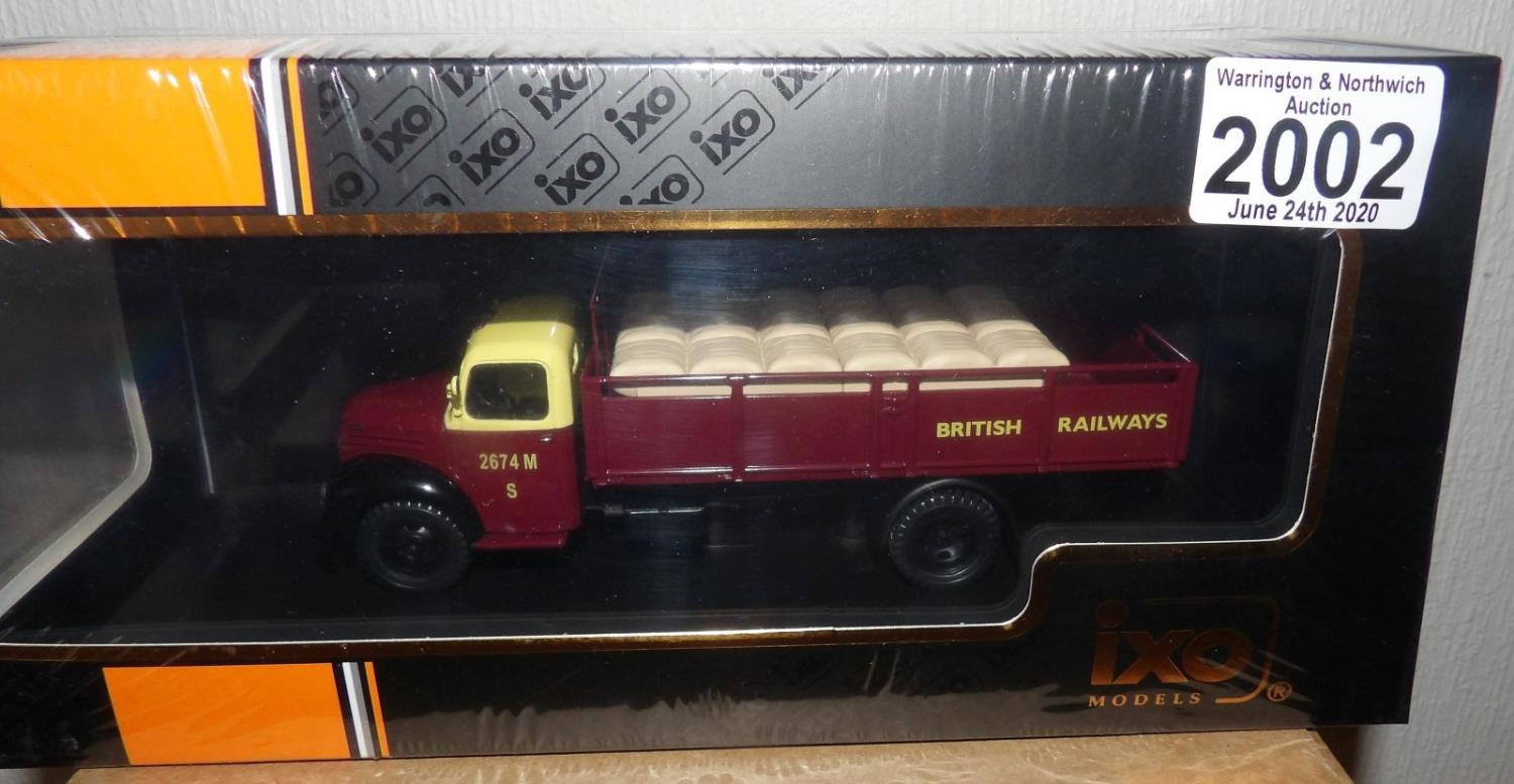 Lot 2002 - IXO 1.43 Scale Ford Thames ET6 1953 British Railways Livery. P&P Group 1 (£14+VAT for the first