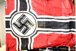 German WWII type battle flag, bearing stamps for Berlin 1939 Reichskreigsflagge, 150 x 90 cm P&P