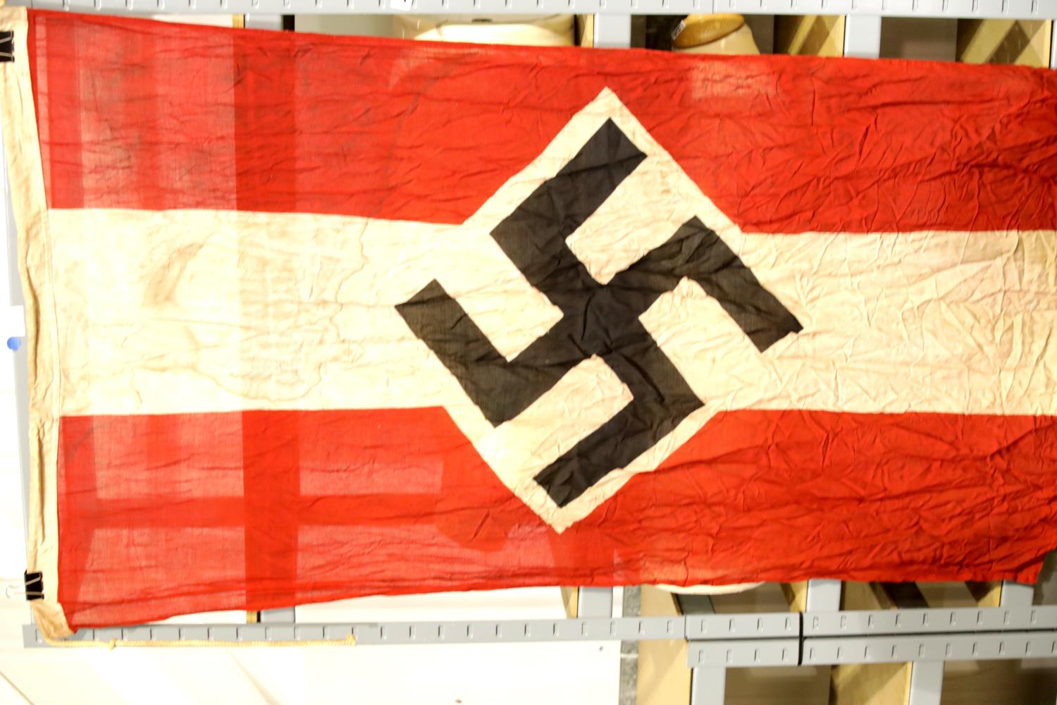 Lot 3011 - German Third Reich type Hitler Youth flag, 150 x 90 cm. P&P Group 1 (£14+VAT for the first lot