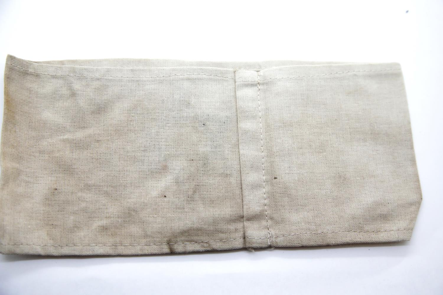 Lot 3059 - WWII type Jewish armband. P&P Group 1 (£14+VAT for the first lot and £1+VAT for subsequent lots)