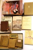 British WWII period Soldier's Word & Phrase Book and Small Arms Manual, 1917 Brave Words for Brave