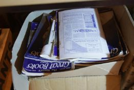Four boxes of mixed books. Not available for in-house P&P.